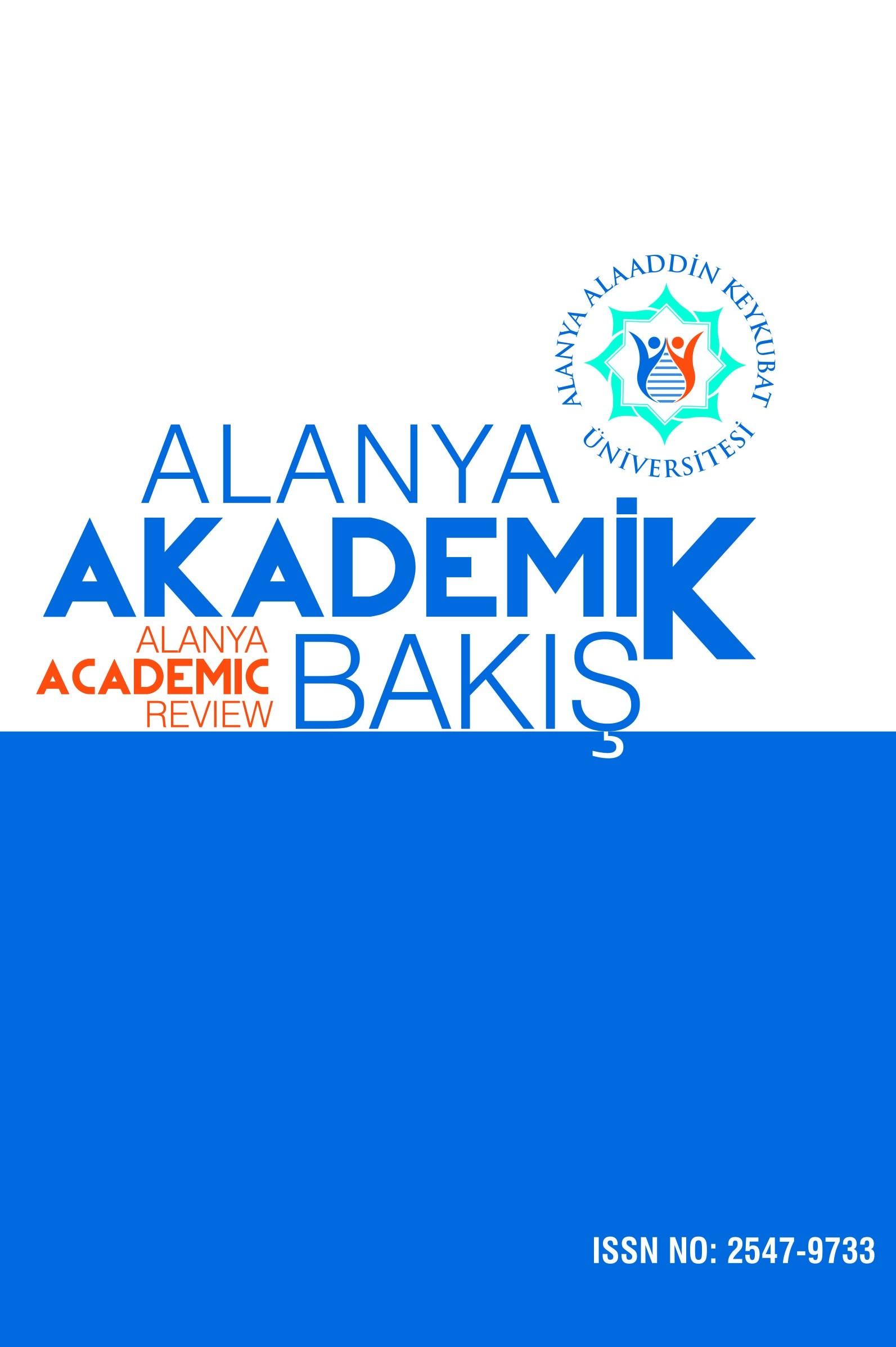 Alanya Academic Review