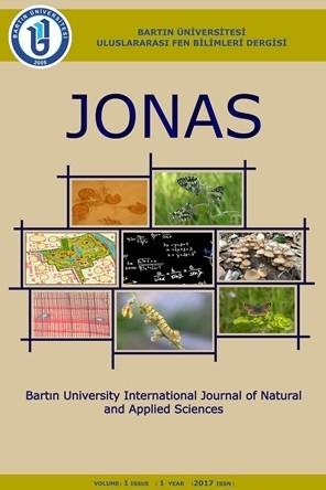 Bartın Üniversitesi Uluslararası Fen Bilimleri Dergisi